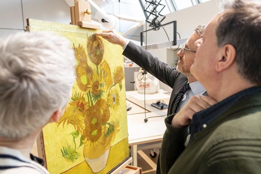 De Zonnebloemen Vincent van Gogh Hollands Glorie